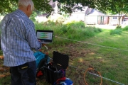 ERT data check in the field
